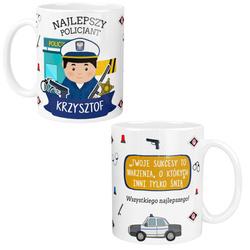 Kubek dla POLICJANTA na PREZENT Personalizowany