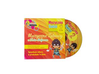 Muzyczny Świat Dziecka 2 - Zabawy Rytmika PŁYTA CD TURBO STEFAN