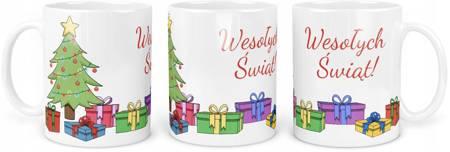 Kubek Świąteczny Wesołych Świąt na PREZENT 330ml