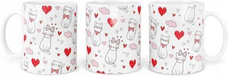 Kubek z Kotkami Dla Miłośników KOTÓW