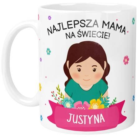 PERSONALIZOWANY Kubek Najlepszej MAMY NA ŚWIECIE!